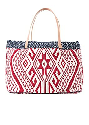 Mango Women's Embroidered Boho Bag
