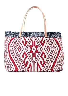 Mango Women's Embroidered Boho Bag