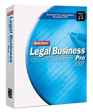 Quicken Legal Business Pro 2007 [OLD VERSION]