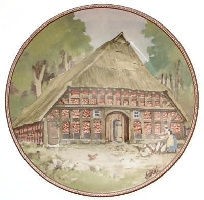 c1985 Konigszelt Bayern Niedersachsenhaus bei Thedinghausen Karl Bedal German Half Timbered Houses plate TN175