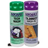 Nikwax Tech Wash and TX. Direct Wash-In Twin Packby Nikwax