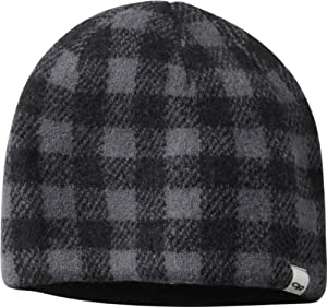 Outdoor Research Svalbard Hat, Black/Charcoal