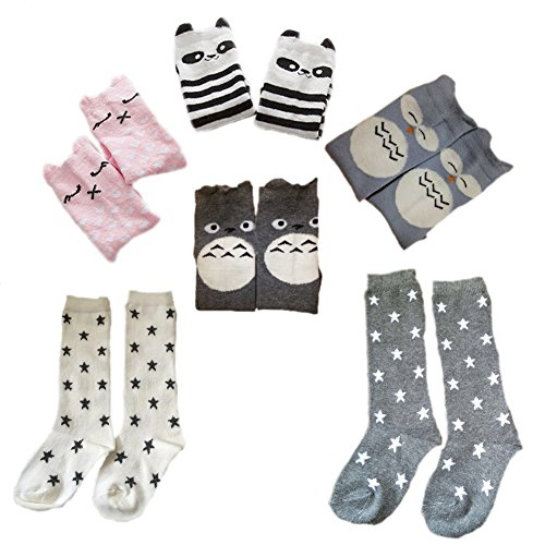 October Elf Uni Baby Knee High Stockings Tube Socks 6