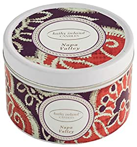 Kathy Ireland Candles Gallery Tin Candle, Napa Valley