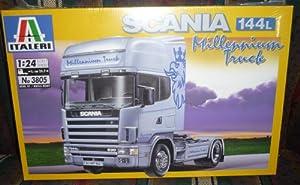 3805 Italeri Scania 144L Millennium Truck 1/24 Scale Plastic Model