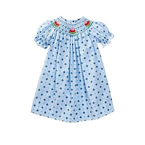 Vive La Fete Watermelon Toddler Girls Bishop 3T front-12381