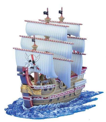 Une pièce d'une collection de grands navires (グランドシップ) rouge / force (animation de From TV ONE PIECE)