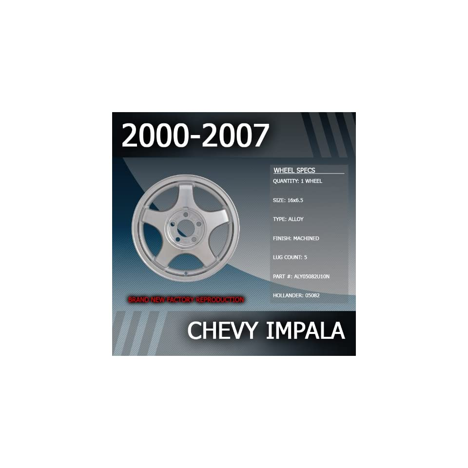 2000 2007 Chevy Impala Factory 16 Replacement Wheel