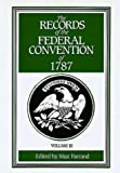img - for The Records of the Federal Convention of 1787 Vol. 3 book / textbook / text book
