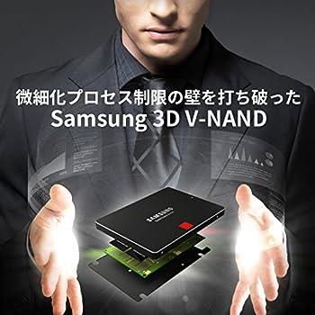 Samsung SSD850PROベーシックキット 1TB 2.5インチ 日本サムスン正規品 3D V-NAND搭載 10年保証 MZ-7KE1T0B/IT
