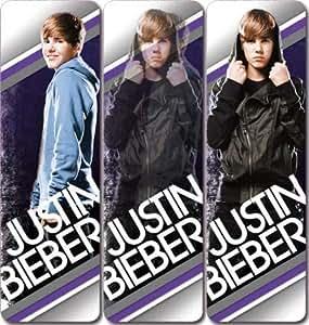 Justin Bieber von 3D Lesezeichen Kunstdruck