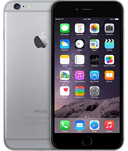 Apple iPhone 6 Plus Unlocked Cellphone, 16GB, Space Gray