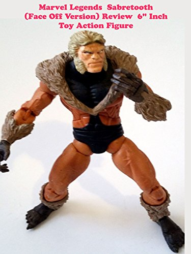 "Marvel Legends SABRETOOTH Face Off 6"" inch (Toy Biz action figure)"