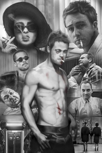 GARVEY, Zack - Poster - Fight Club + Poster a sorpresa