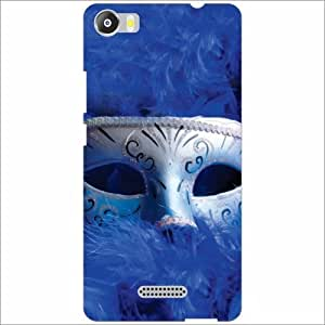 Micromax Canvas 5 E481 Back Cover - Silicon Mask Designer Cases