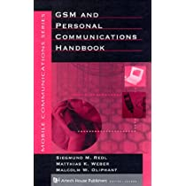 GSM and Personal Communications Handbook (Artech House Mobile Communications)