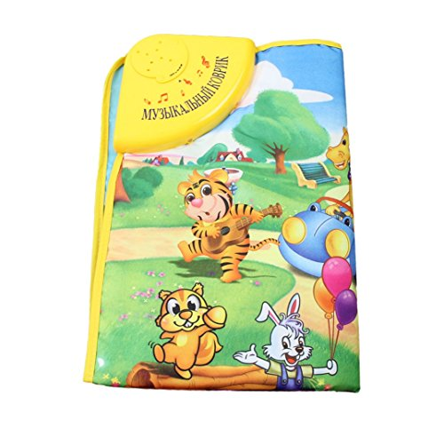 Binmer(TM)Musical Music Touch Play Carpet Mat Blanket Kid Baby Animal Farm sassy seat doorway jumper 5 toys with musical play mat