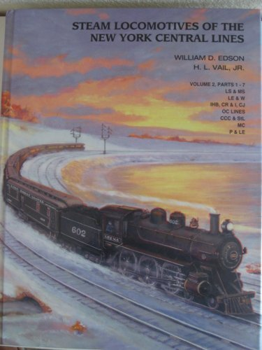 Steam Locomotives of the New York Central Lines, Volume 2, Parts 1-7 (Society Of Steam compare prices)