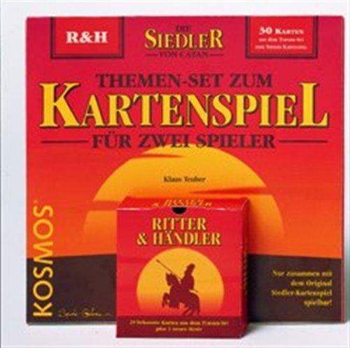KOSMOS 688110 – Themen-Sets zum Siedler Kartenspiel, Ritter und Händler