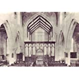 Ein Blatt von 21 Photo Glossy Sticker, jeder Sticker 6,35 cm x 3,8 cm English Church Englisch Kirche Norfolk Trunch...