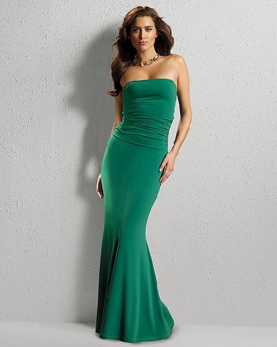 Shape fx Control Bandeau Dress by Newport News