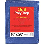 Do it Medium Duty Blue Poly Tarp-16X20 BLUE MED DUTY TARP