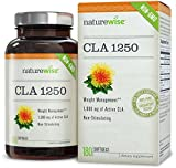 NatureWise High Potency CLA 1250 Supplement, 1000 mg, 180 Softgels Reviews