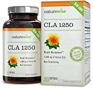 NatureWise High Potency CLA 1250 Supp…