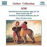 ソル:演奏会用小品/6つのワルツとギャロップ Op. 57/ベルリンの夜会の思い出 Op. 56/村人の幻想曲 Op. 52