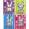 it's happy bunny - 4-Pack Folder Set