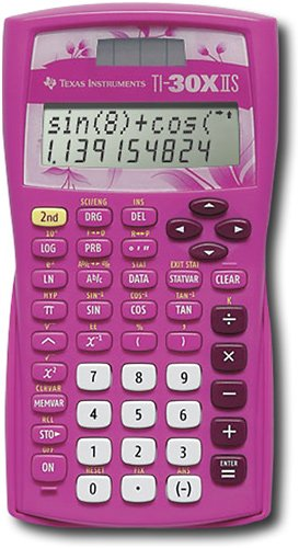 TEXAS INSTRUMENTS TI-30XIIS Handheld Scientific Calculator - Pink