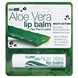 Optima Aloe Vera Sun Protect Lip Balm Tea-Tree 4 g