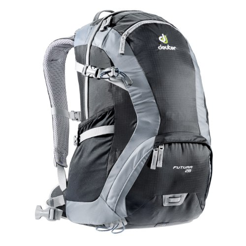 B004FO4HH4 Deuter Futura 28 Backpack: Black/Titan