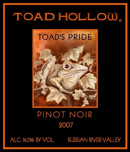 2007 Toad Hollow Vineyards - Toad'S Pride Pinot Noir 750Ml