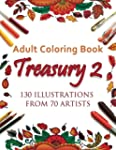 Adult Coloring Book Treasury 2: 130 I...