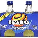 Orangina, Bev Citrus 4Pk, 40 FO (Pack of 6)