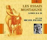 echange, troc Montaigne, Michel Piccoli - Les Essais De Montaigne /Vol.2