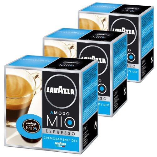Buy Lavazza A Modo Mio Cremosamente Dek, Pack of 3, 3 x 16 Capsules by Luigi Lavazza S.p.A.