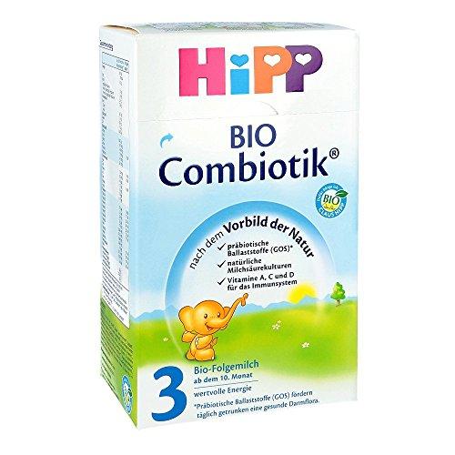 hipp bio combiotik 3 folgemilch  ab dem 10 monat, 600g ~ Wasserkocher Für Babynahrung