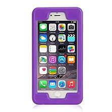 buy Iphone 6 Plus Waterproof Case, Isi Underwater Waterproof Shockproof Dirtproof Full Sealed Case Cover For Apple Iphone 6 Plus,Iphone 6S Plus 5.5 Inch - Purple
