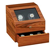 Hot Sale Orbita Siena 2 Watch Executive Rotorwind Winder In Teak