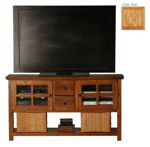 Cheap Eagle Industries 67309PLLT Entertainment Console-Sofa Table – Lite Oak (67309PLLT)