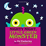 Nighty Night, Little Green Monster (0316210412) by Emberley, Ed