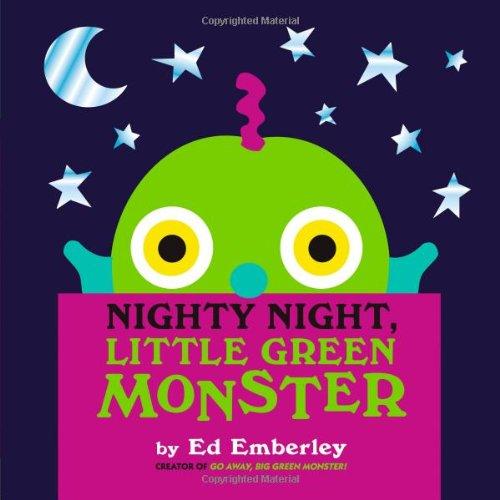 Nighty Night, Little Green Monster front-62501