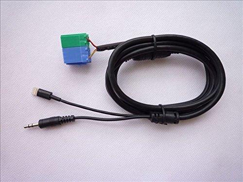 bekltaux-cable-de-entrada-aux-adaptador-con-funcion-de-carga-lightning-para-1999-2001-porsche-coche-