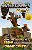 The Amazing Adventures of Steve and Herobrines Great Chase (Real Minecraft Comics Book 3)