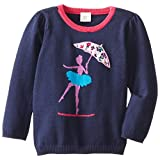 Egg by Susan Lazar Little Girls' Ballerina Sweater