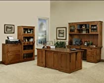 Hot Sale 100% Solid Oak Wood Mission Home Office Executive Desk Furniture Made in the USA