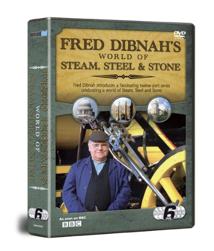 Fred Dibnah World Of Steel, Steam & Stone 6 DVD SET