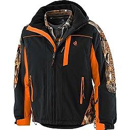Legendary Whitetails Men\'s Glacier Ridge Pro Series Jacket Onyx XX-Large